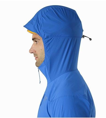 Psiphon SL Pullover Rigel Helmet Compatible Hood Side View