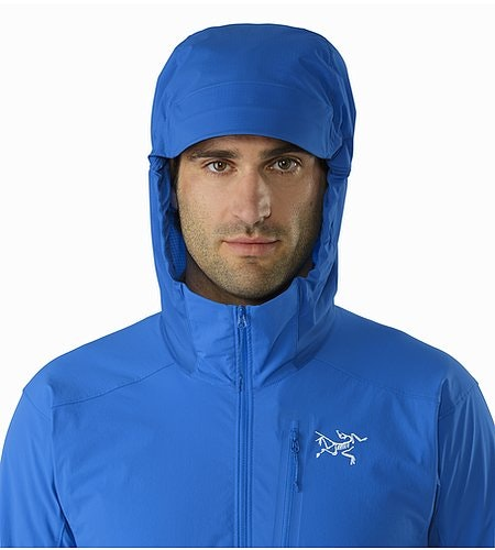 Psiphon SL Pullover Rigel Hood Front View