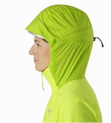 Psiphon SL Pullover Women's Titanite Helmet Compatible Hood Side View