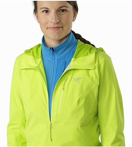 Psiphon SL Pullover Women's Titanite Open Collar