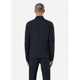 Quoin IS Jacket Deep Navy Back View