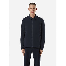 Quoin IS Jacket Deep Navy Front View