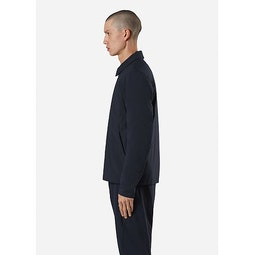 Quoin IS Jacket Deep Navy Side View