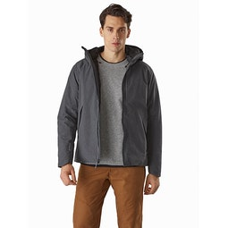 Radsten Insulated Jacket Black Heather Open View