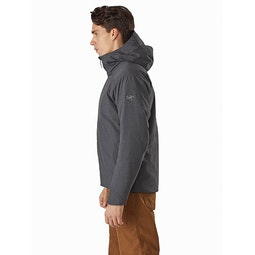 Radsten Insulated Jacket Black Heather Side View