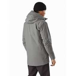 Radsten Parka Pyrite Heather Back View