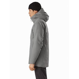 Radsten Parka Pyrite Heather Side View