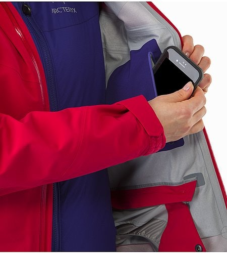 Ravenna Jacket Women's Radicchio Internal Pocket
