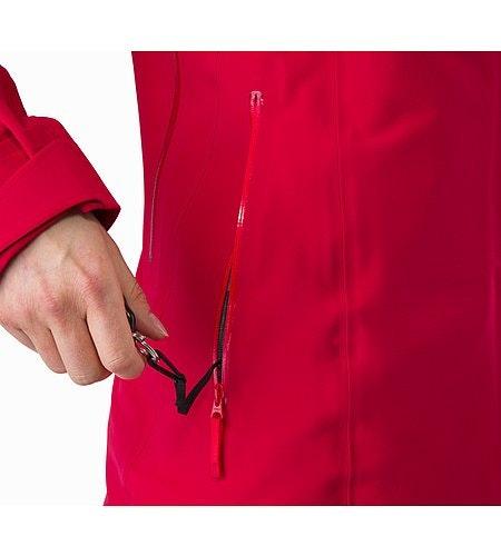 Ravenna Jacket Women's Radicchio Key Clip