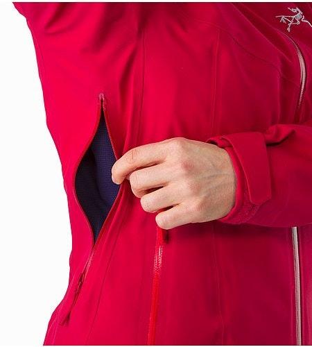 Ravenna Jacket Women's Radicchio Pit Zip