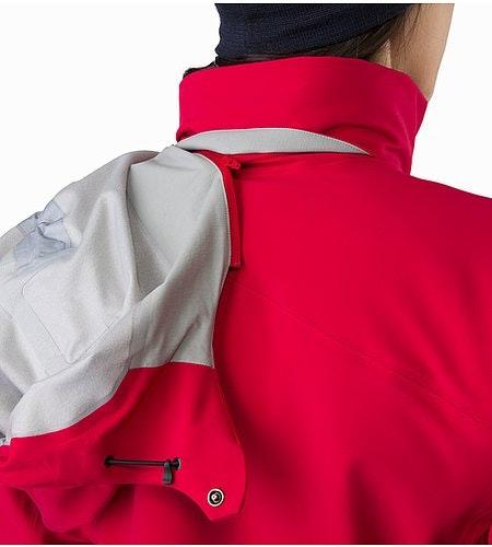 Ravenna Jacket Women's Radicchio Removable Hood
