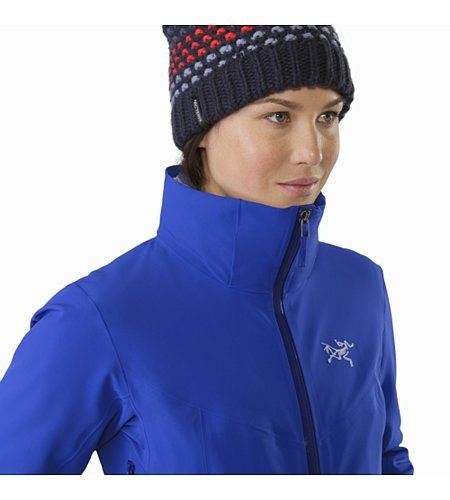 Ravenna Jacket Damen Zaffre Kragen