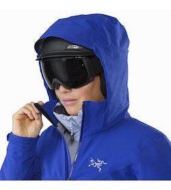 Ravenna Jacket Women's Zaffre Helmet Compatible Hood