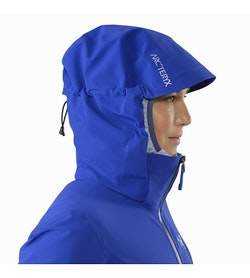 Ravenna Jacket Women's Zaffre Hood Up