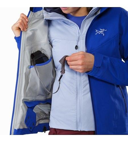 Ravenna Jacket Damen Zaffre Innenliegende Stautasche