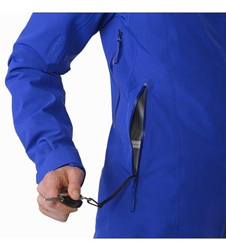 Ravenna Jacket Damen Zaffre Schlüsselclip