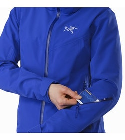 Ravenna Jacket Women's Zaffre Sleeve Pocket