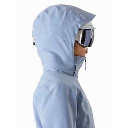 Ravenna Jacket Women's Zephyr Helmet Compatible Hood