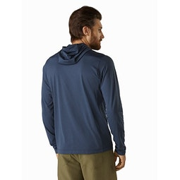 Remige Hoody Cobalt Moon Back View