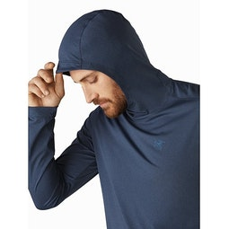 Remige Hoody Cobalt Moon Hood Up