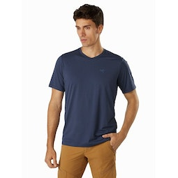 Remige Shirt SS Cobalt Moon Front View