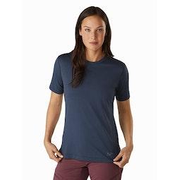 Remige Shirt SS Women's Cobalt Moon Front View