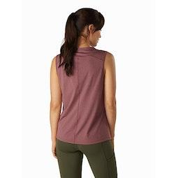 Remige Sleeveless Top Women's Inertia Back View
