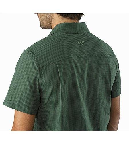 Revvy Shirt SS Cypress Detailansicht Kragen Hinten