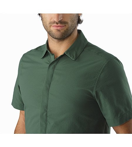 Chemise Revvy MC Cypress Col ouvert