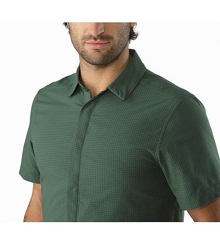 Revvy Shirt SS Cypress Offener Kragen