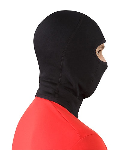 Rho AR Balaclava Black Back View