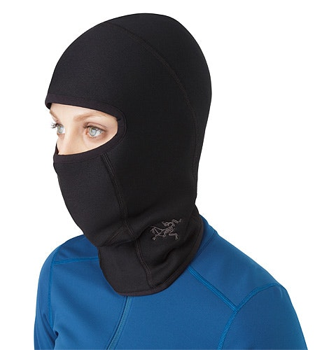 Rho AR Balaclava Black Front View 2