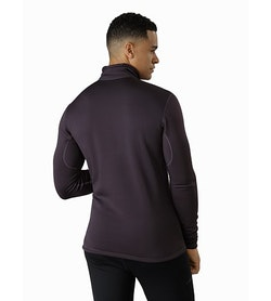 Rho AR Zip Neck Dimma Back View