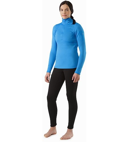 Rho AR Zip Neck Women's Baja Front View 2