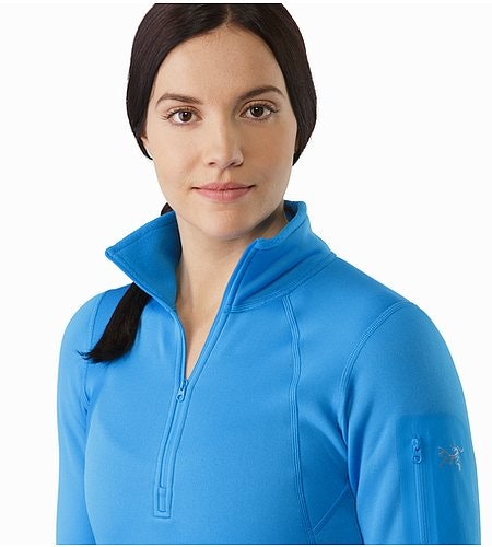 Rho AR Zip Neck Women's Baja Open Collar 2