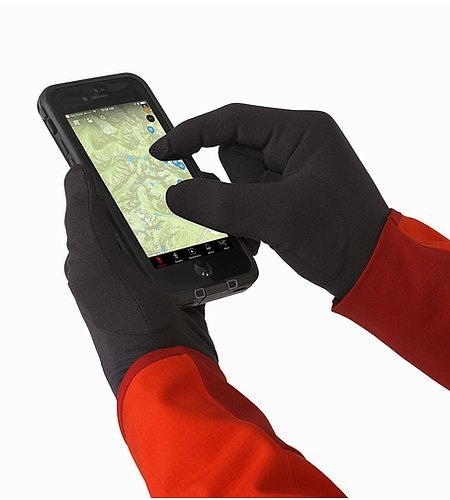 Rho Glove Black Screen Compatible Pads