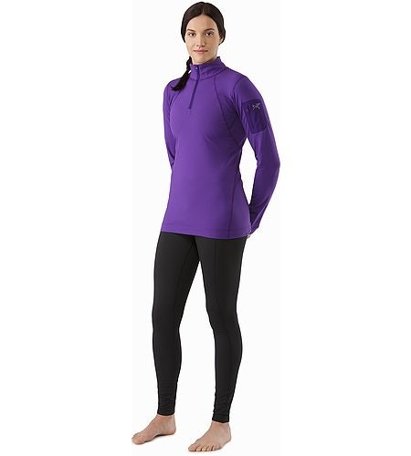 Rho LT Bottom Women's Black Front View 2