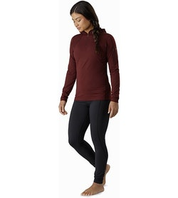 Rho LT Hooded Zip Neck Women's Flux Full Body