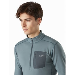 Rho LT Zip Neck Crux Chest Pocket