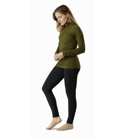 Rho LT Zip Neck Women's Bushwhack Full Body
