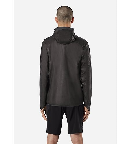 Rhomb Jacket Black Back View