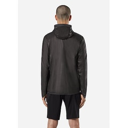 Rhomb Jacket Black Back View