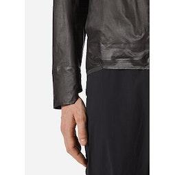 Rhomb Jacket Black Cuff View