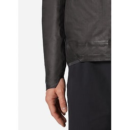 Rhomb Jacket Black Cuff