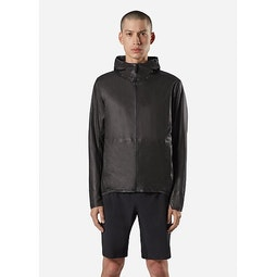 Rhomb Jacket Black Front View