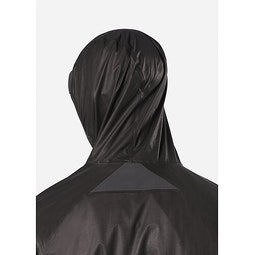 Rhomb Jacket Black Hood Up 1