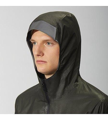 Rhomb Jacket Black Hood