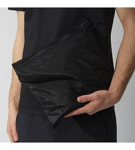 Rhomb Jacket Black Laundry Bag