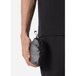 Rhomb Jacket Black Packed View