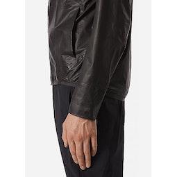 Rhomb Jacket Black Side Cuff
